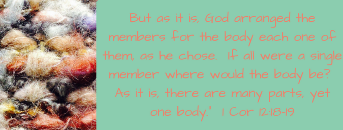 But as it is, God arranged the members for the body each one of them, as he chose. If all were a single member where would the body be_ As it is, there are many parts, yet one body._.png