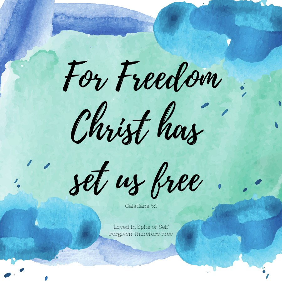 week 5 forgiven therefore free sticker